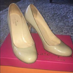 Kate Spade nude heels w/ box